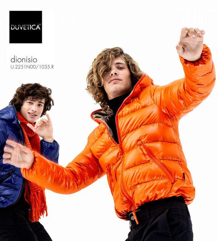 2018-19秋冬新作 DUVETICA Dionisio col.344デュべティカ ディオニシオ オレンジ ダウンジャケット メンズ イタリア
