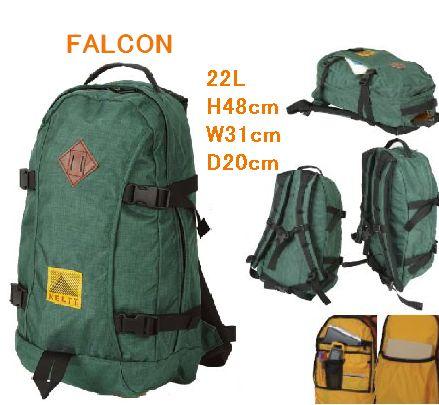 送料無料KELTY FALCON ファルコン 80'復刻タグ 22L