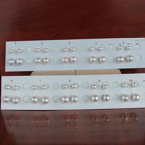 ●<Titan Piace>直結 or ブラアコヤ真珠越し物<Top quality><Semi Round Shape>9.5-10mm<Swing>&アコヤ真珠越し物<Top quality><Round Shape>6.5-7mm直結 or ブラ選択くださいませ。<百合Swing>