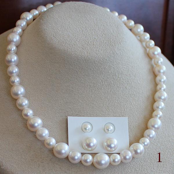 ●アコヤ真珠越し物<Top quality>Pearl<formal>7.5-10.5mm<Round Shape><ホワイトピンク><Excellent Specialversion>アコヤ真珠越し物<Top quality>Pearl<formal>5.5-6mm/10-10.5mm<百合Swing>Necklace&Piace or Earring