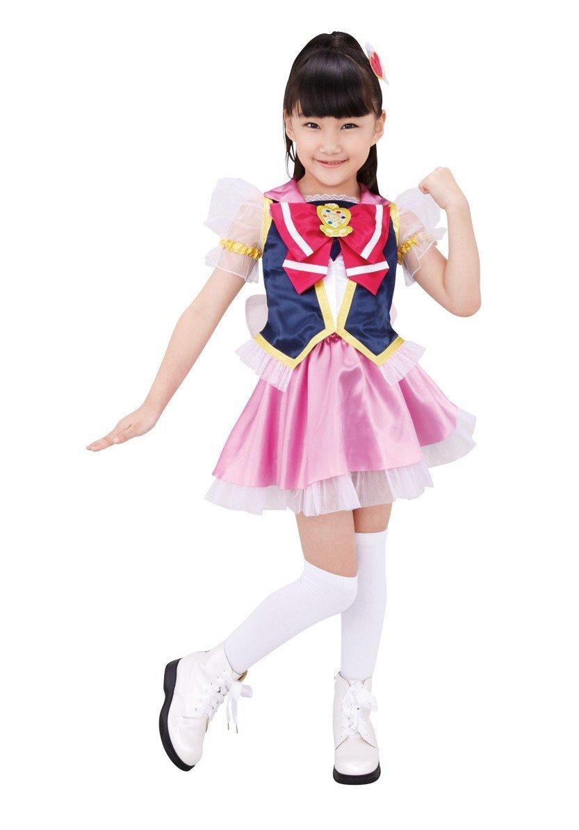 ハピネスチャージプリキュア! キュアラブリー なりきりキャラリートキッズ キッズコスチューム 女の子 105cm-115cm