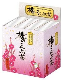 【3,980円以上ご購入で送料無料!】梅こんぶ茶 40本入り×20箱