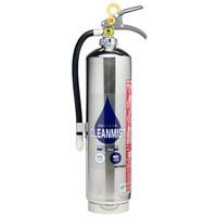 純水ベース蓄圧消火器 クリーンミスト SW-3DS ミヤタ容量3Lタイプ リサイクルシール付き SW3DS