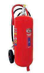 ハツタ PEP-50(PEP50) 大型ABC粉末消火器車載式の移動しやすい大型消火器【リサイクルシール付】
