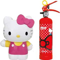 ハツタ製作所住宅用強化液消火器 HK1-RD とキティベース HKB-1 のセット!!★大量注文の場合は是非一度ご相談下さい。