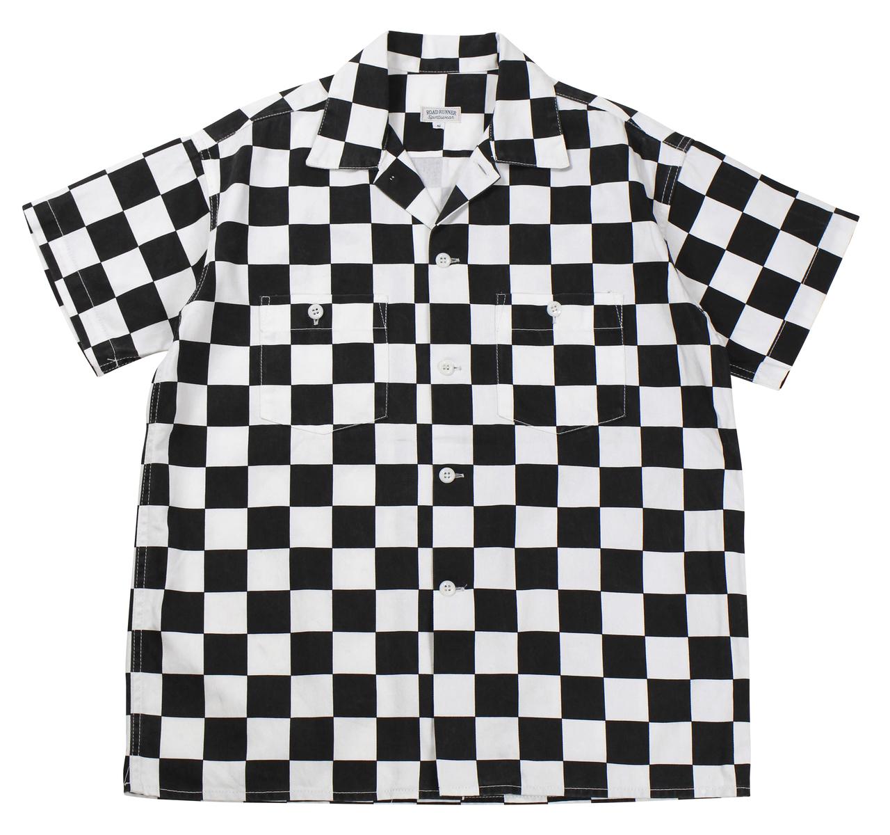 BLACK×WHITE ROAD RUNNER shirts