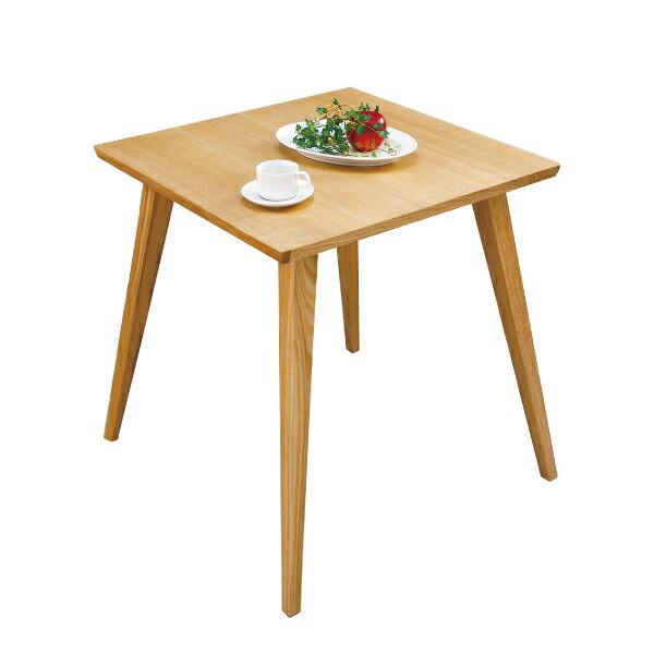 【送料無料】 バンビテーブル CL-786TNA ダイニングテーブル リビングテーブル 木製 2人用 おしゃれ シンプル 北欧 正方形 インテリア 小さめサイズ 一人暮らし 新生活 模様替え ナチュラル 素朴 アンティーク カントリー フレンチ シンプル カジュアル リラックス 代引可