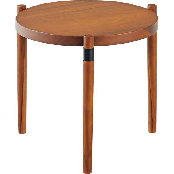 ラウンドテーブル S 木製 カフェテーブル コーヒーテーブル リビングテーブル 北欧テイスト アンティーク風 カフェ風 レトロ モダン シンプル かわいい おしゃれ 新生活 模様替え 定番 人気 机 キッチン カントリー 食卓用 ナチュラル アメリカン
