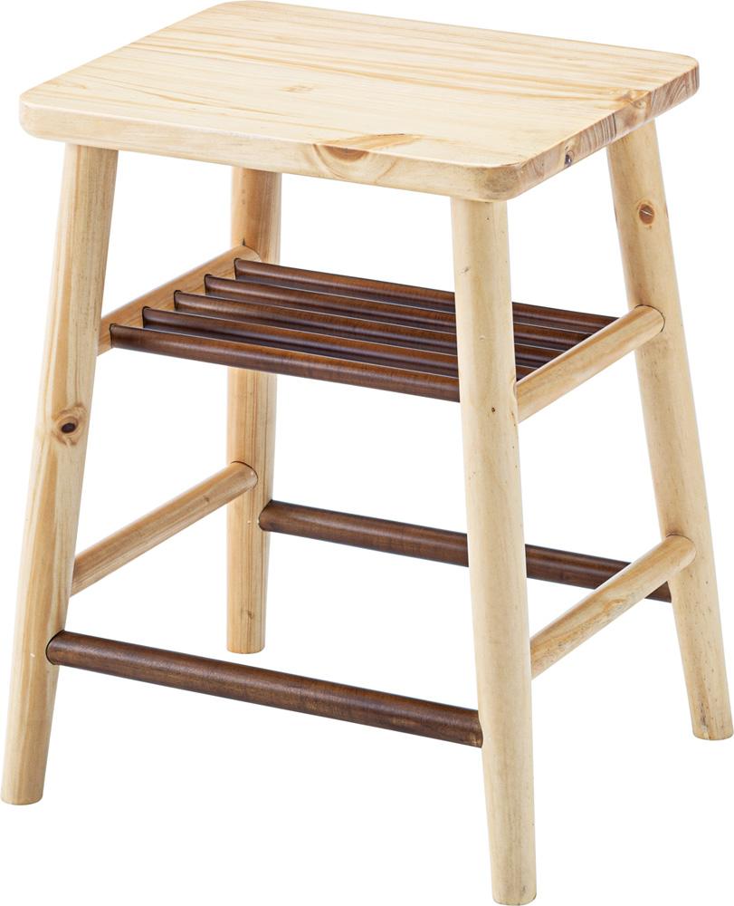 スツール 天然木 いす イス チェア 椅子 角型 おしゃれ 一人暮らし 模様替え 木製 ウッド かわいい シンプル 新生活 北欧 カフェ風 デザイン スタイリッシュ 腰掛 玄関 靴 置き場 ナチュラル オフィス リビング ダイニング 木目 四角 完成品