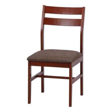 【送料無料】 KDダイニングチェア レノバ シングルチェア 椅子 いす 食卓用 一人掛け シンプル モダン 北欧テイスト おしゃれ ブラウン ナチュラル