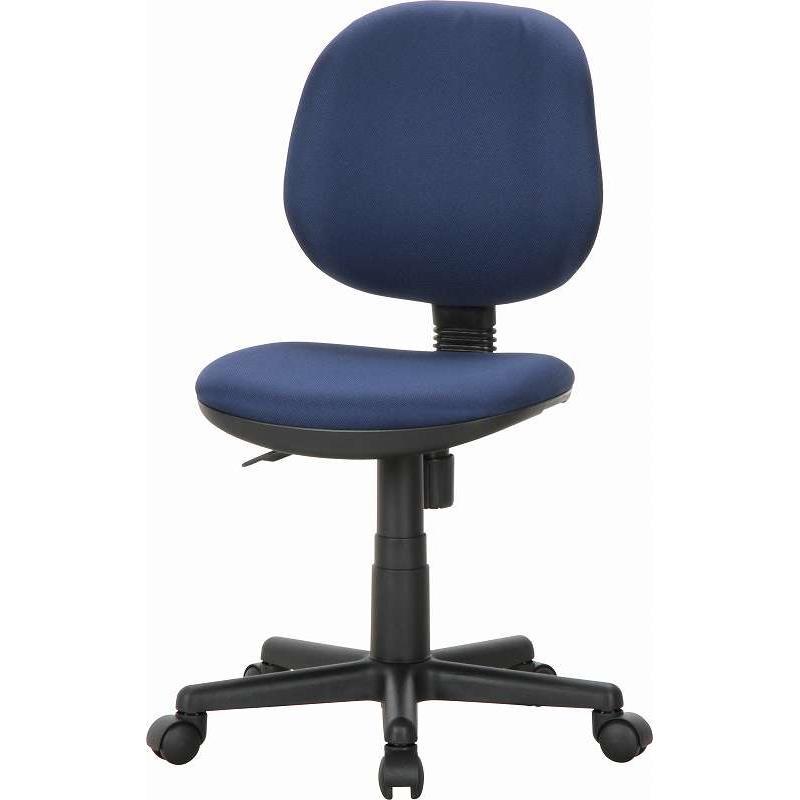 オフィスチェアー イグアス NV ネイビー オフィス家具 書斎 デスクチェア キャスター付き 組立品 ホームオフィス 在宅ワーク テレワーク おしゃれ シンプル 人気 コンパクト 使いやすい 便利 座り心地