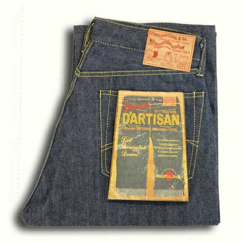 STUDIO D ' ARTISAN Studio, da ルチザン SD-DO2 natural Indigo jeans original straight ◆ casual/mens ◆