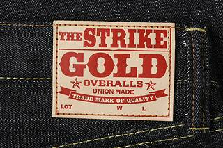 ストライクゴールド (罢工金) 定期直牛仔裤 'SG1103' ◆ 休闲/男的 / 牛仔布 ◆