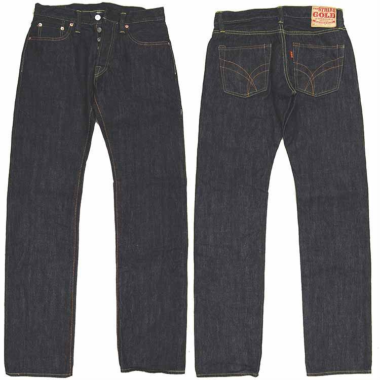 罢工金 (罢工) 15 盎司紧直筒牛仔裤 SG1515 测试样品。