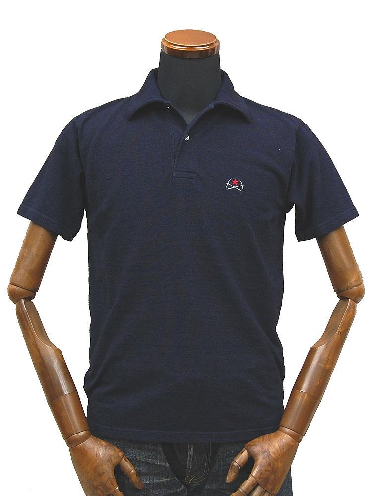 染色靛蓝 polo 衫掘金 STRIKEGOLD 原目的地 'SGT025' ◆ 休闲/男装 ◆