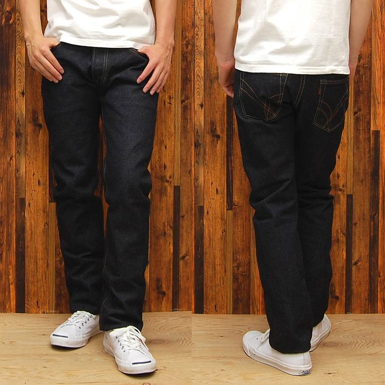 ストライクゴールド (THE GOLD STRIKE) left Aya 17 oz tight straight jeans SG3105 ◆ COOL SERIES ◆ ◆ casual/men 's/denim ◆