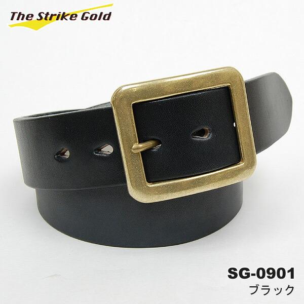THE STRIKE GOLD(ストライクゴールド)イタリアンベンズレザーベルト プレーン