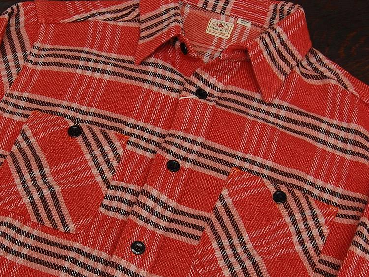 甘蔗甘蔗柔软剂软斜纹复选衬衫长袖 'SC26714' ◆ 法兰绒衬衫和东方企业 / 男装 / 休闲 ◆