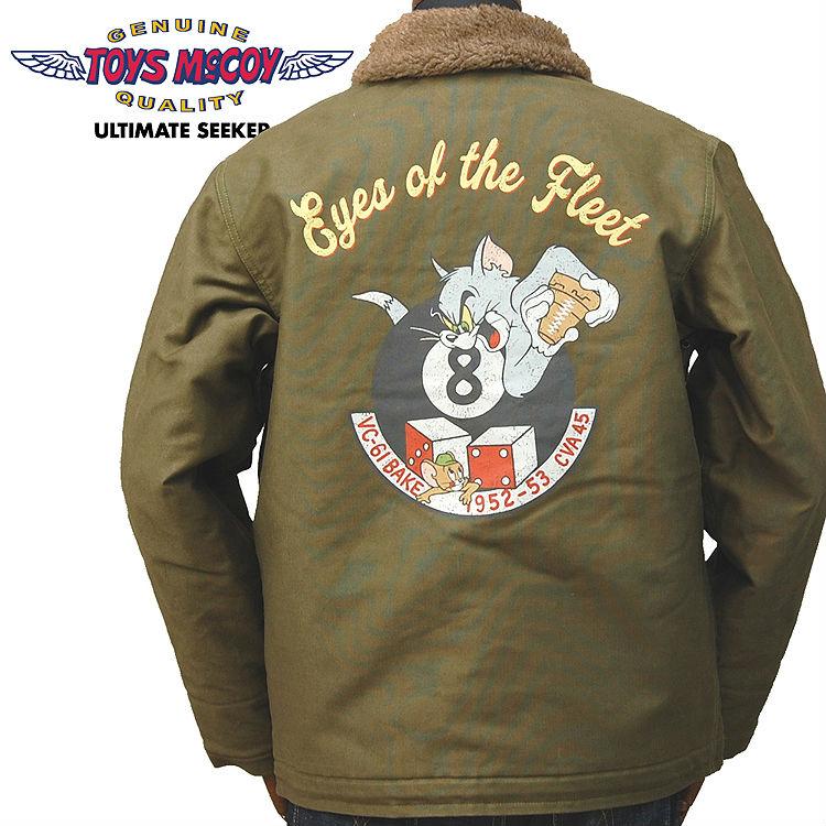 McCoy TOYS McCOY n-1 deck jacket n-1 DECK JACKET Tom & Jerry-TOM & JERRY