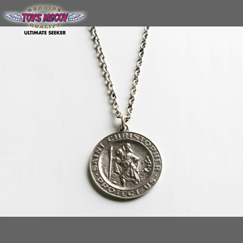 on gold global market klax rakuten mcqueen en men ccristopcer pendant casual medallion mccoy saint st s christopher toys steve item store