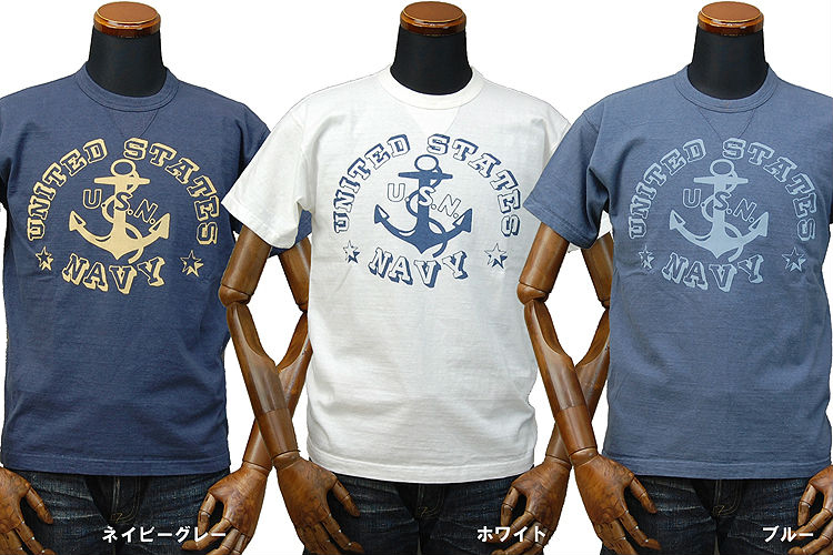 """玩具麦科伊麦科伊军事 T 恤美国;""""联合国家海军""""TMC1629 / 休闲 / 男士 / 军事"""