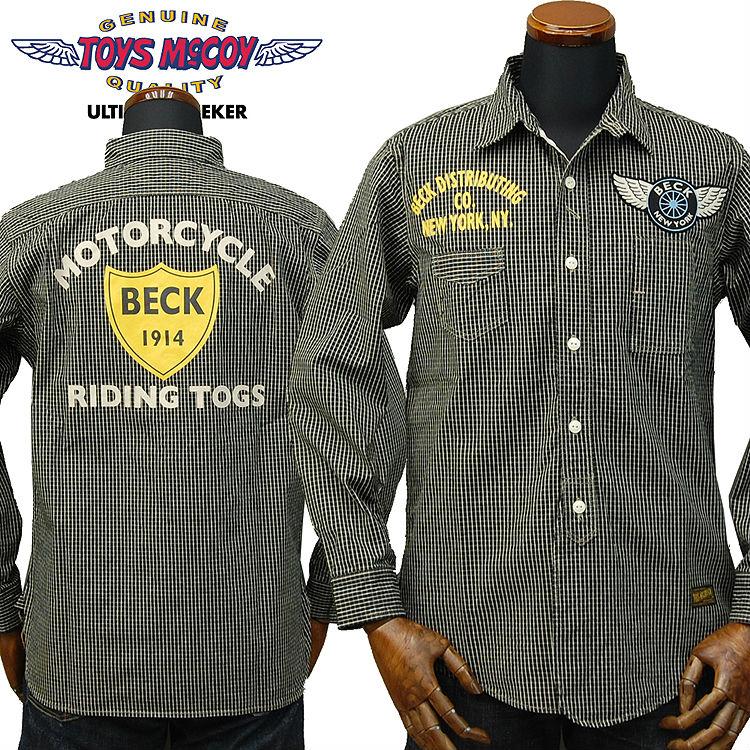 312c7e6e627 TOYS McCOY McCoy cotton check work shirt Beck