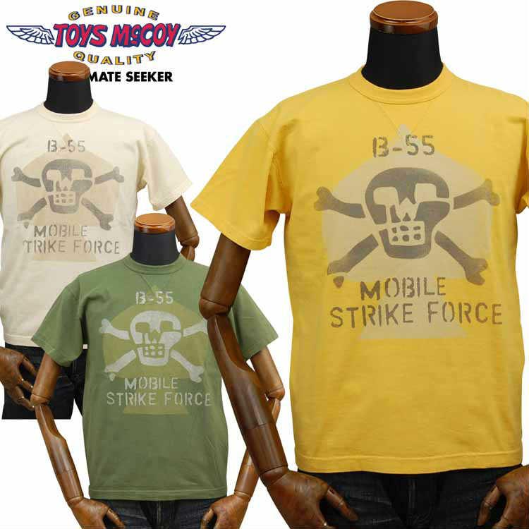 トイズマッコイ TOYS McCOY ミリタリーTシャツ「MIKE FORCE B-55 MOBILE STRIKE FORCE」TMC1929