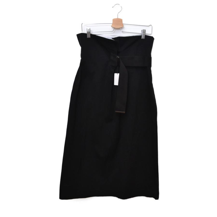 YLEVE 通信販売 メーカー公式ショップ ウエストベルトスカート ブラック 0