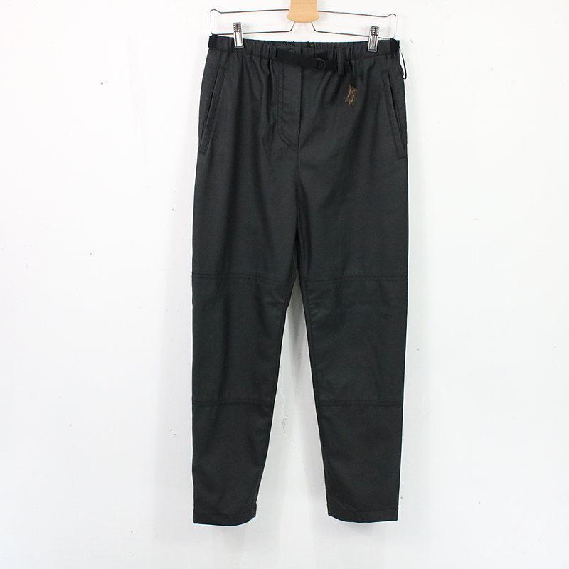 Louis Vuitton ルイヴィトン ウレタンコーティングベルテッドパンツ レディース 人気海外一番 人気海外一番 パンツ 古着 ブラック モノグラム おしゃれ 32