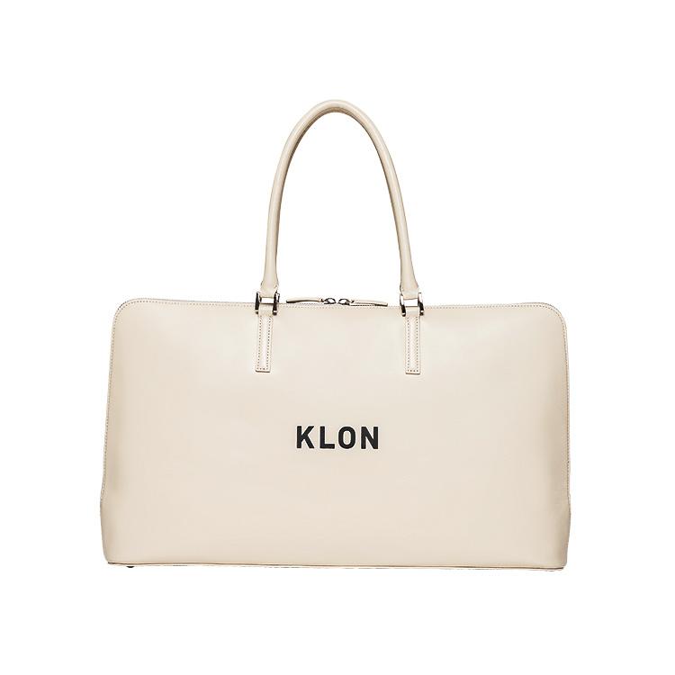 KLON ACTIVE LEATHER BAG BRIEFCASE TYPE WHITE , レディース メンズ 秋 冬 バッグ 鞄 白 レザーバッグ 本革 シンプル モノトーン ファッション バッグ クリスマス