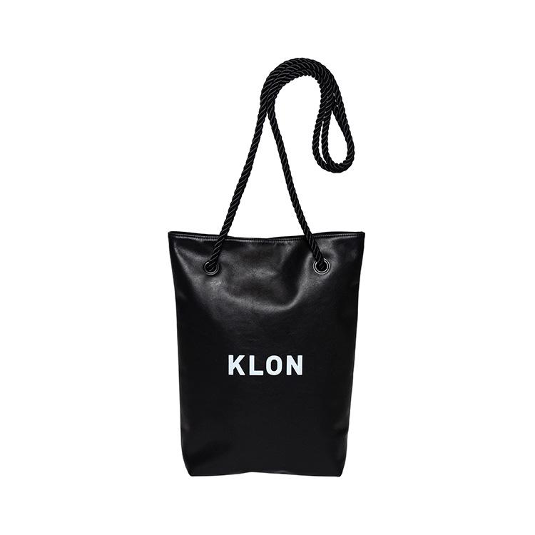 KLON DAY TOTE BLACK , クローン レディース メンズ トートバッグ ブラック レジャー シンプル モノトーン ショルダー 軽い バッグ お揃い 祝い ギフト プレゼント