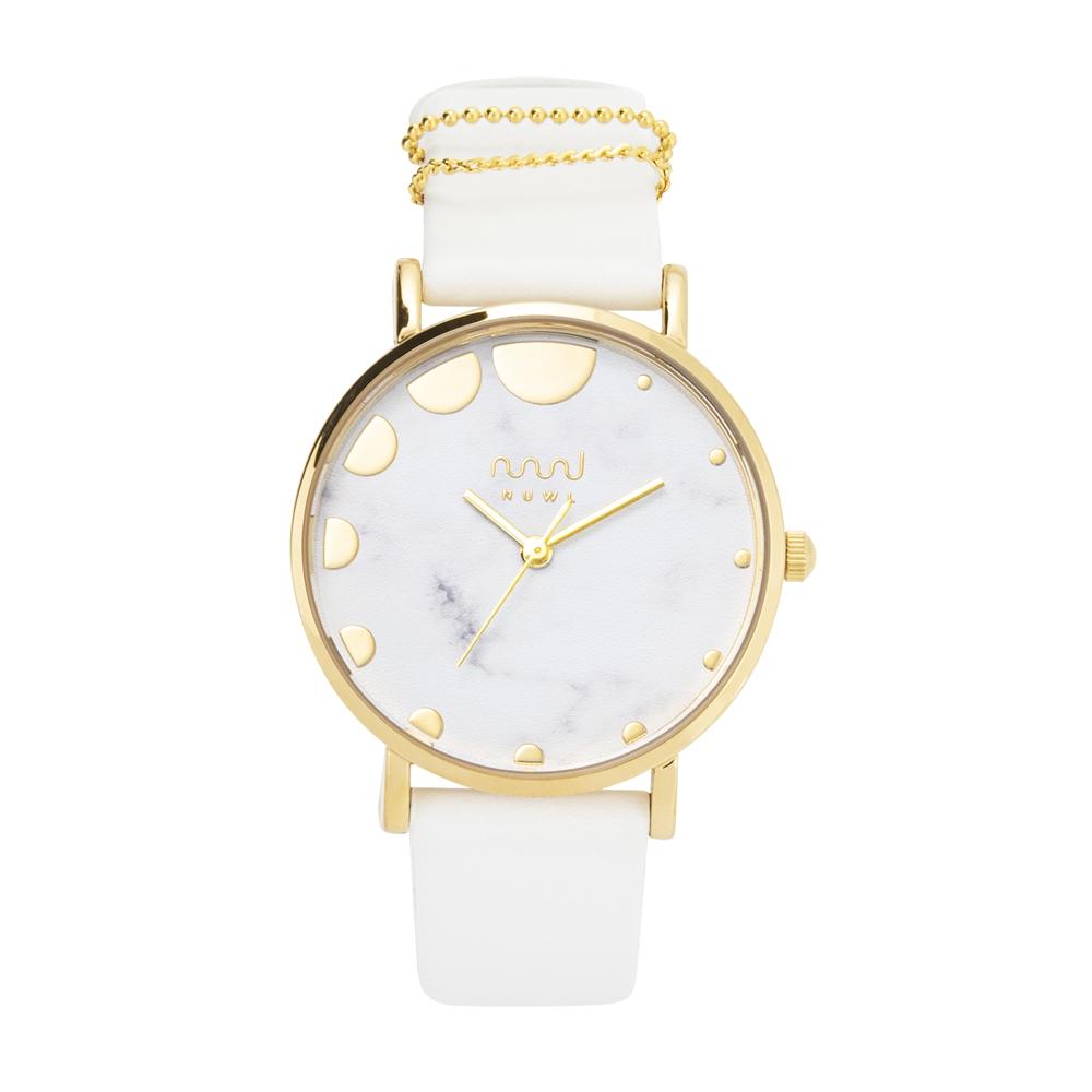 NUWL MISTY DOT STONEWHITE , レディース 女性 腕時計 白 シンプル かわいい 生活防水 誕生日 夏 腕時計 ギフト プレゼント 社会人 祝い ペールカラー