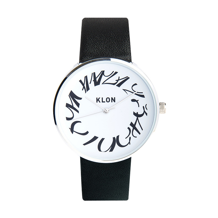 KLON CLASSICAL RONDO TIME 40mm , クローン レディース メンズ 腕時計 黒 シンプル モノトーン モノクロ 誕生日 夏 腕時計 お揃い 祝い ギフト プレゼント