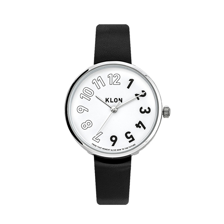 KLON STANDARD GEMINI 01 38mm , クローン レディース メンズ ペアウォッチ 腕時計 黒 シンプル モノトーン 誕生日 ペアウォッチ お揃い 祝い ギフト プレゼント