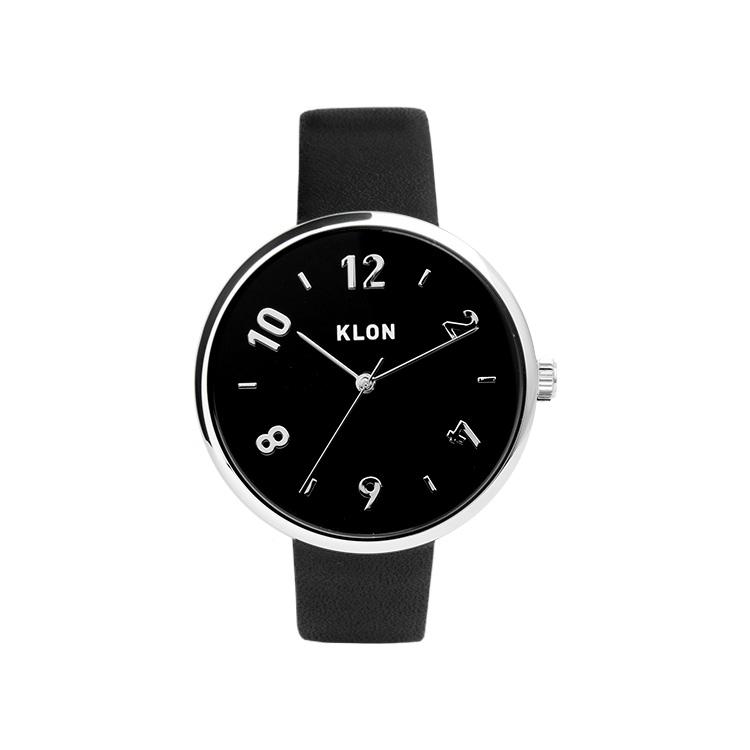 KLON PASS TIME DARING EVEN【BLACK SURFACE】38mm , クローン レディース メンズ 腕時計 黒 シンプル モノトーン モノクロ 誕生日 夏 腕時計 お揃い 祝い ギフト プレゼント
