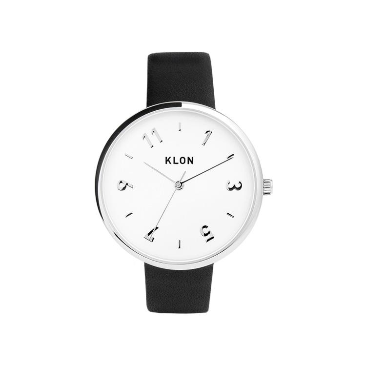 KLON PASS TIME DARING ODD 38mm , クローン レディース メンズ 腕時計 黒 シンプル モノトーン モノクロ 誕生日 夏 腕時計 お揃い 祝い ギフト プレゼント