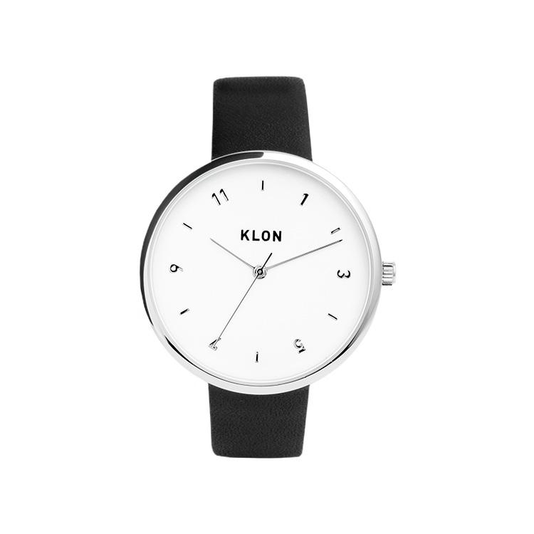 KLON PASS TIME ELFIN ODD 38mm , レディース メンズ 腕時計 黒 シンプル モノトーン モノクロ 誕生日 初夏 春 腕時計 母の日 進学 バレンタイン 新生活 祝い 就活