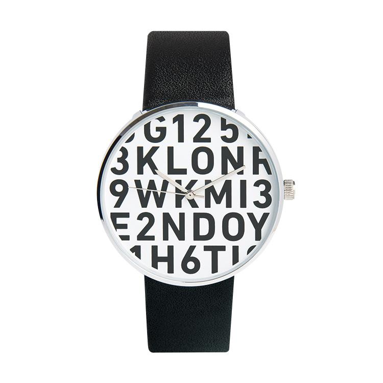 KLON SERIAL NUMBER L BLACK 40mm , レディース メンズ 腕時計 黒 シンプル モノトーン モノクロ 誕生日 初夏 春 腕時計 母の日 進学 バレンタイン 新生活 祝い 就活
