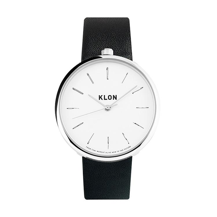 【激安】 【10%OFF】 KLON THIN LINE TIME BLACK 40mm , クローン レディース メンズ 腕時計 黒 シンプル モノトーン モノクロ 誕生日 冬 腕時計 お揃い 祝い ギフト プレゼント ホワイトデー, 88モバイル a19b79f7