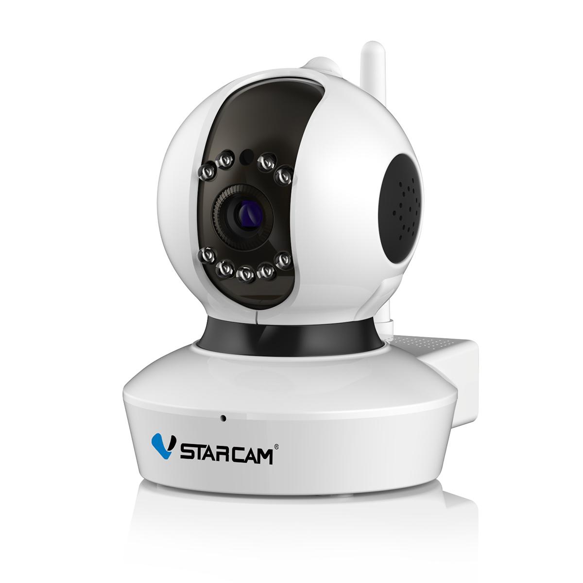 防犯カメラ ワイヤレス wifi 簡単 設置 連続録画 ペット 屋内専用 遠隔監視 音声録画 動体検知 SDL 防犯カメラ ワイヤレス C7823 VStarcam 100万画素 ONVIF対応 新モデル ペットモニター ベビーモニター 無線 WIFI MicroSDカード録画 電源繋ぐだけ 屋内用 監視 ネットワーク IP カメラ 技適 PSE認証 6ヶ月保証