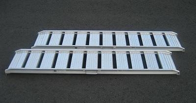 シンセイアルミブリッジ2本セット180×30cm直送品