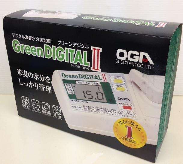グリーンデジタル2 TD-Gデジタル米麦水分測定器