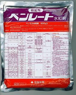 殺菌剤 治療剤 メール便可 まとめ買い特価 ベンレート水和剤 500g 輸入