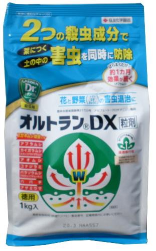 殺虫剤 有名な 実物 オルトランDX粒剤 1kg