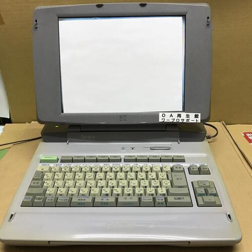 カシオ ワープロ CX-9000 新品偏光板使用 (落札後整備商品) 3ヶ月間保証あります