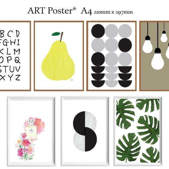 送料無料 アートポスター A4 サイズ ART デザイン ステッカー アートプリント 全40種 ポスター 新発売 北欧 ご予約品 インテリア