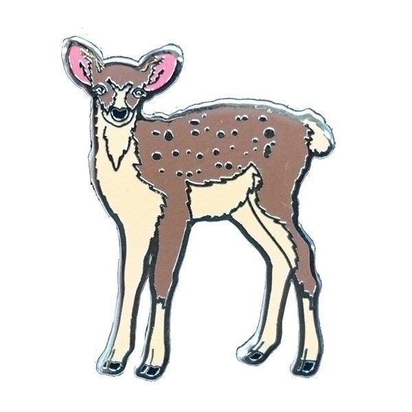 日本最大級の品揃え アニマルフレンズ ピンズ シカ 安値 動物 雑貨 プレゼント
