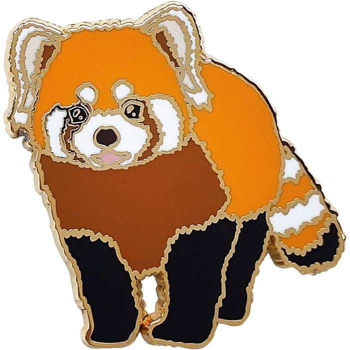 アニマルフレンズ ピンズ レッサーパンダ 動物 配送員設置送料無料 雑貨 激安 プレゼント