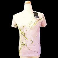 イヴサンローランYvesSaintLaurentTシャツ「NEW」【中古】