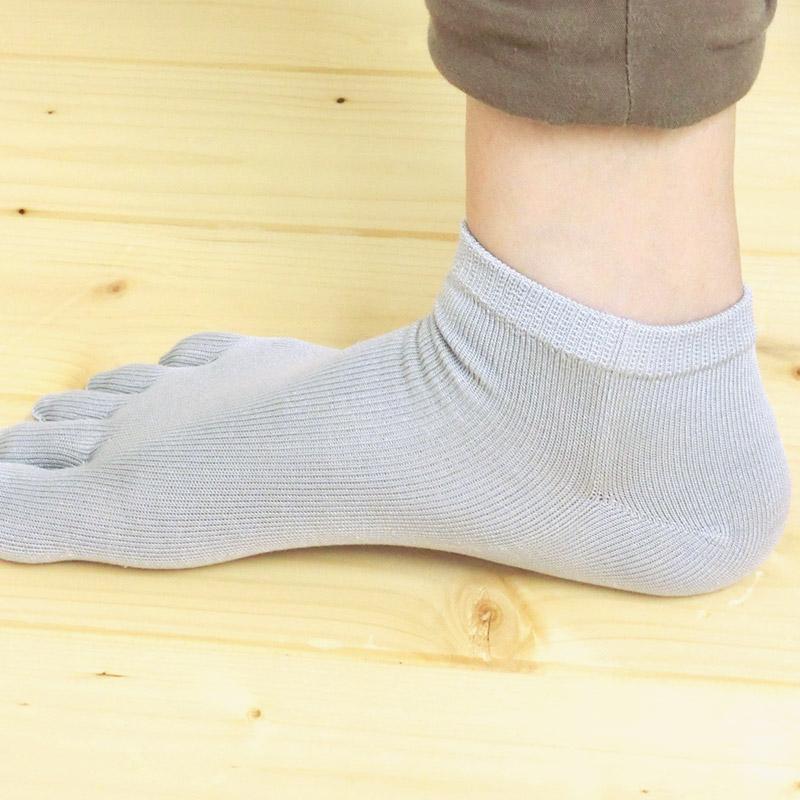 Silk Socks and five five finger fingers socks and five finger SOCKS / 5 fingers socks sneakers short-length women's